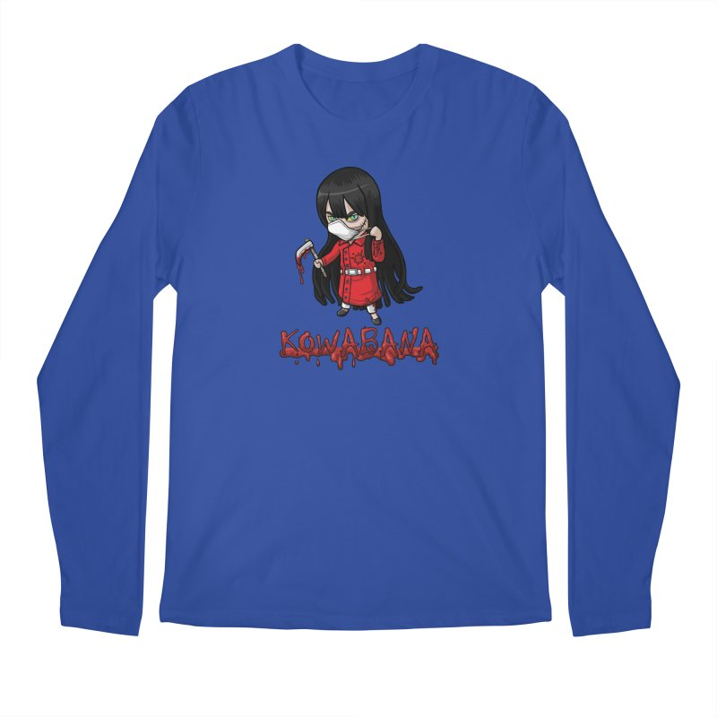 Kuchisake-onna Men's Regular Longsleeve T-Shirt by Kowabana's Artist Shop