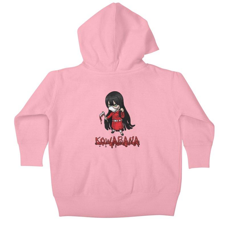 Kuchisake-onna Kids Baby Zip-Up Hoody by Kowabana's Artist Shop