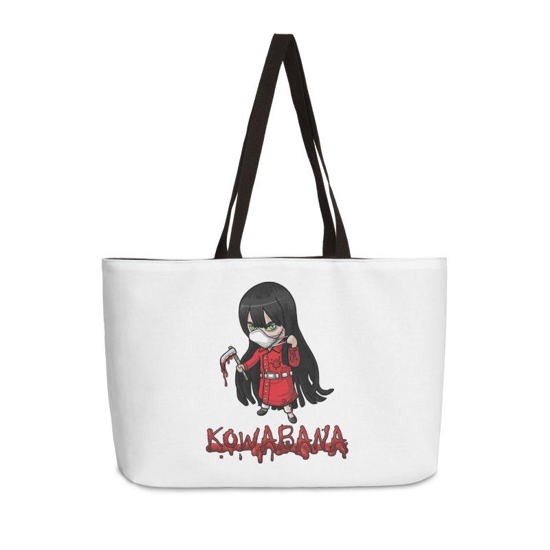 Kuchisake-onna Accessories Weekender Bag Bag by Kowabana's Artist Shop