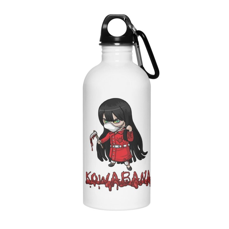 Kuchisake-onna Accessories Water Bottle by Kowabana's Artist Shop