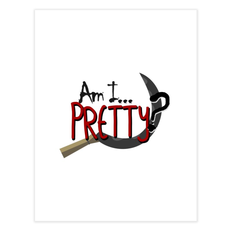 Am I pretty? Home Fine Art Print by Kowabana's Artist Shop