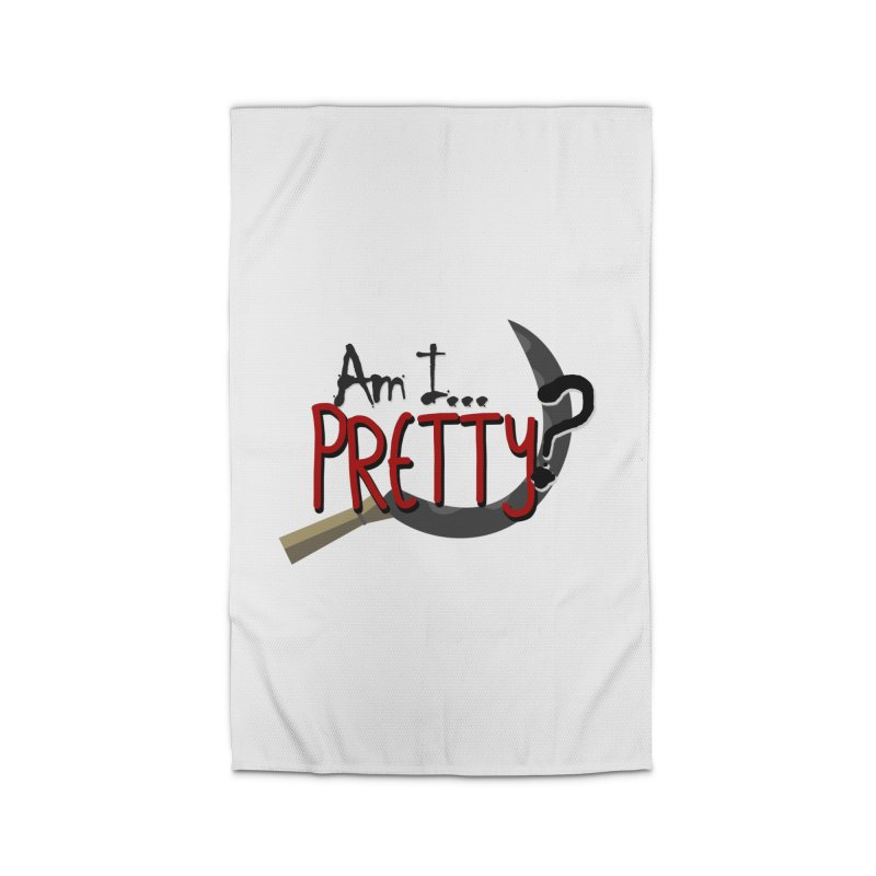 Am I pretty? Home Rug by Kowabana's Artist Shop