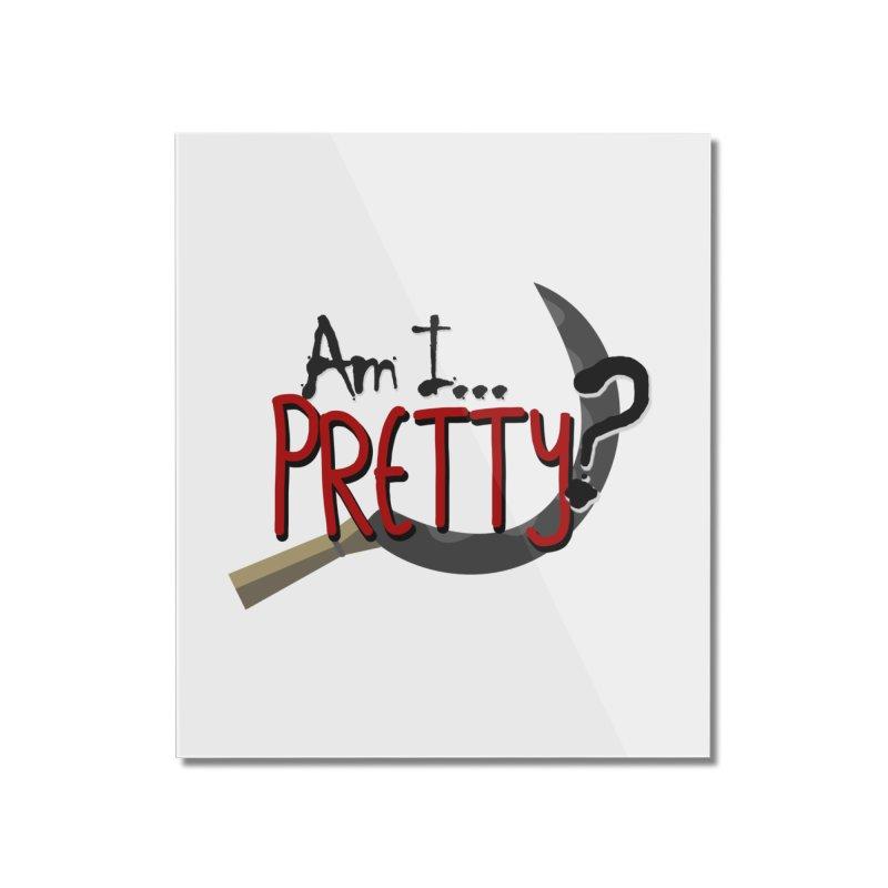 Am I pretty? Home Mounted Acrylic Print by Kowabana's Artist Shop