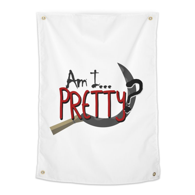 Am I pretty? Home Tapestry by Kowabana's Artist Shop