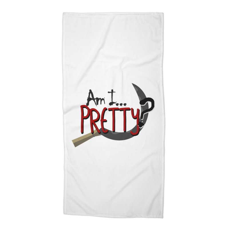 Am I pretty? Accessories Beach Towel by Kowabana's Artist Shop