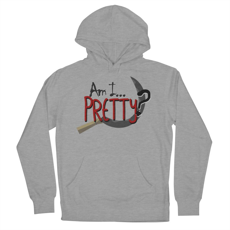 Am I pretty? Men's French Terry Pullover Hoody by Kowabana's Artist Shop