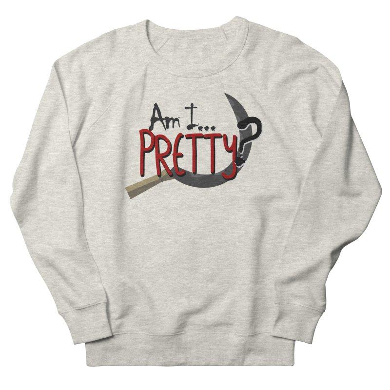 Am I pretty? Women's French Terry Sweatshirt by Kowabana's Artist Shop