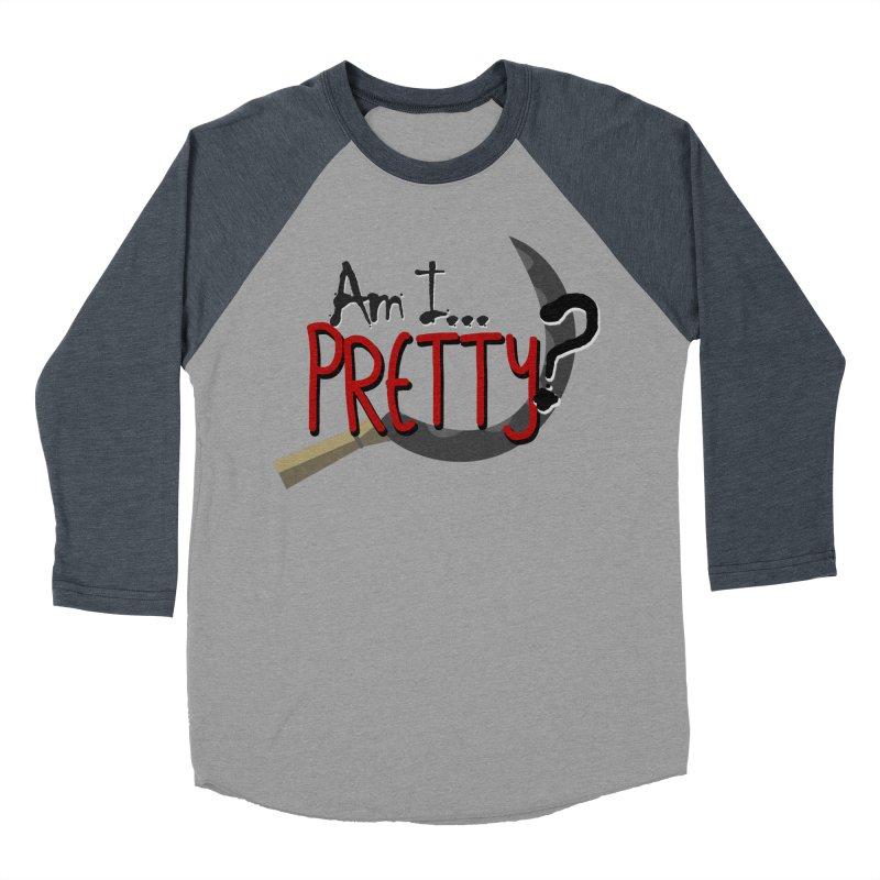 Am I pretty? Men's Baseball Triblend Longsleeve T-Shirt by Kowabana's Artist Shop