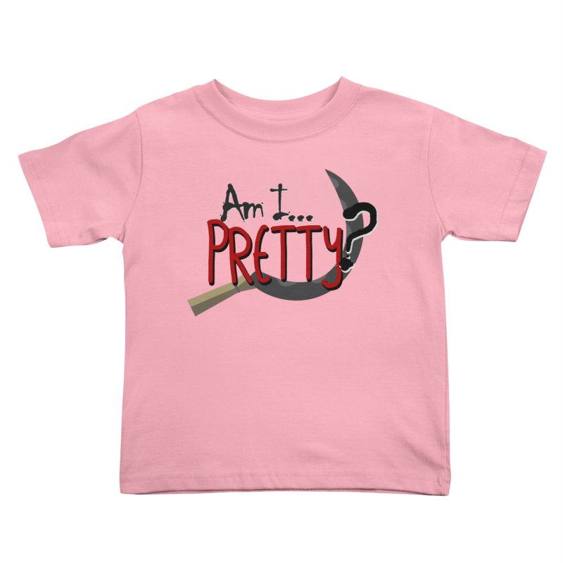 Am I pretty? Kids Toddler T-Shirt by Kowabana's Artist Shop