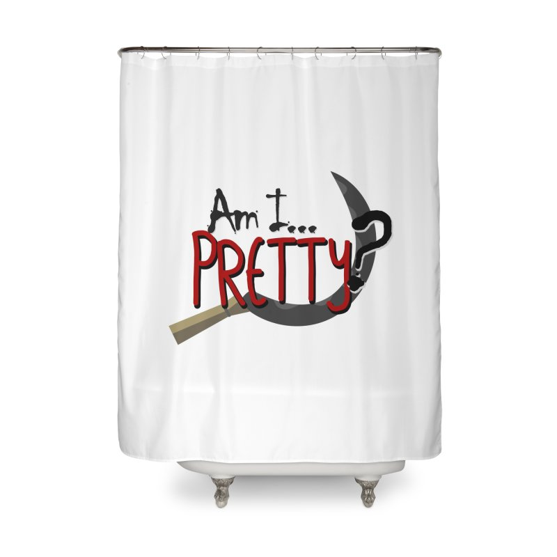Am I pretty? Home Shower Curtain by Kowabana's Artist Shop
