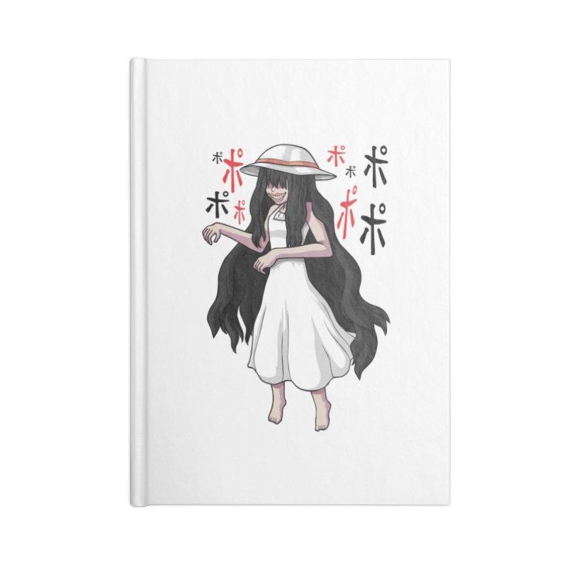 Hasshaku-sama Accessories Lined Journal Notebook by Kowabana's Artist Shop