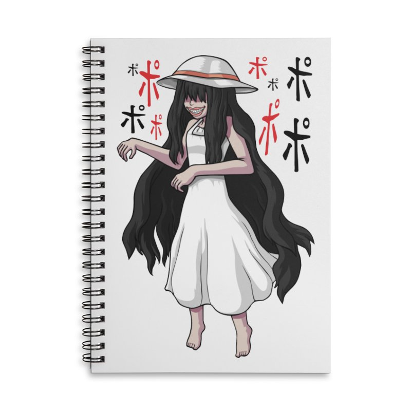 Hasshaku-sama Accessories Lined Spiral Notebook by Kowabana's Artist Shop