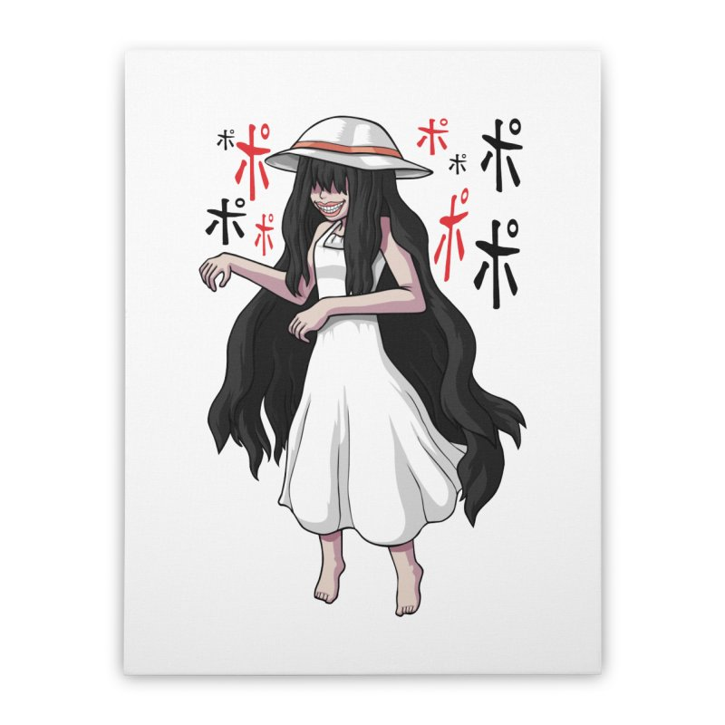 Hasshaku-sama Home Stretched Canvas by Kowabana's Artist Shop