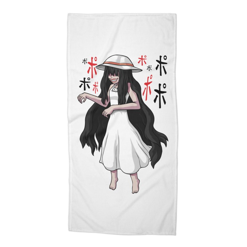 Hasshaku-sama Accessories Beach Towel by Kowabana's Artist Shop