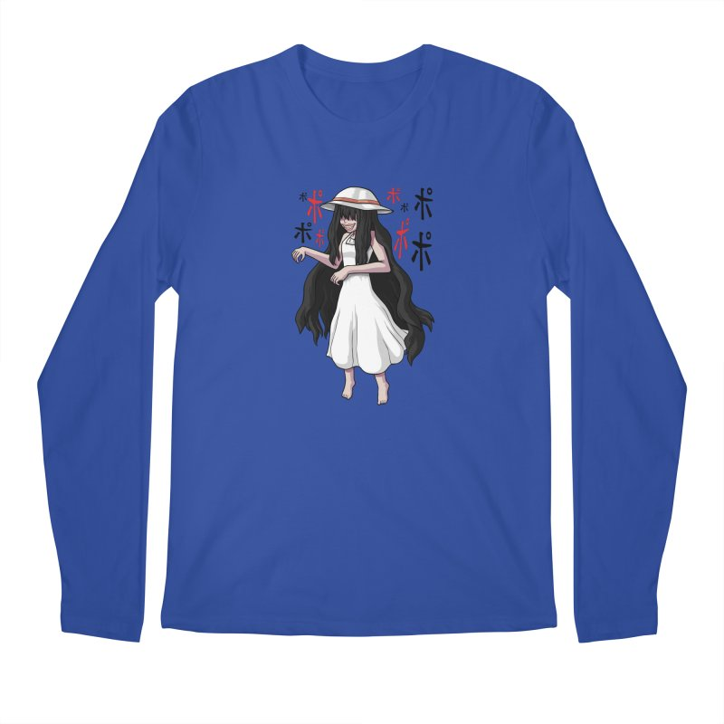 Hasshaku-sama Men's Regular Longsleeve T-Shirt by Kowabana's Artist Shop