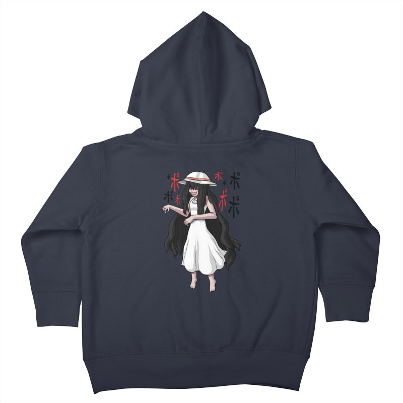 Hasshaku-sama Kids Toddler Zip-Up Hoody by Kowabana's Artist Shop