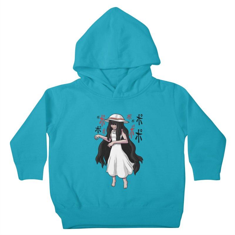 Hasshaku-sama Kids Toddler Pullover Hoody by Kowabana's Artist Shop