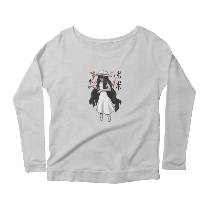 Hasshaku-sama Women's Scoop Neck Longsleeve T-Shirt by Kowabana's Artist Shop