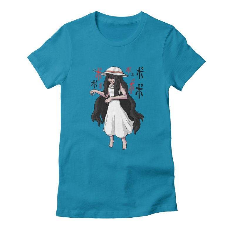 Hasshaku-sama Women's Fitted T-Shirt by Kowabana's Artist Shop