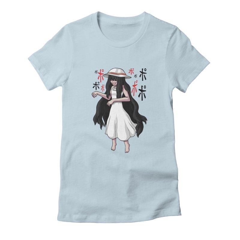 Hasshaku-sama Women's Fitted T-Shirt by Kowabana's Artist Shop