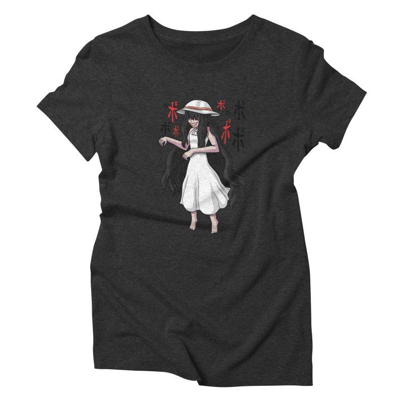 Hasshaku-sama Women's Triblend T-Shirt by Kowabana's Artist Shop