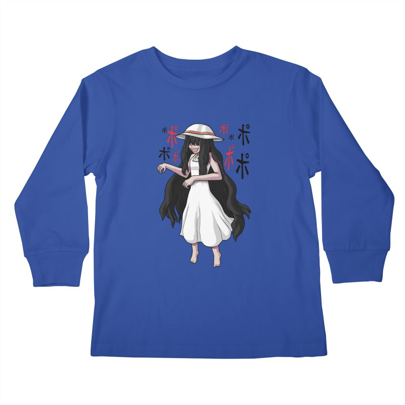 Hasshaku-sama Kids Longsleeve T-Shirt by Kowabana's Artist Shop