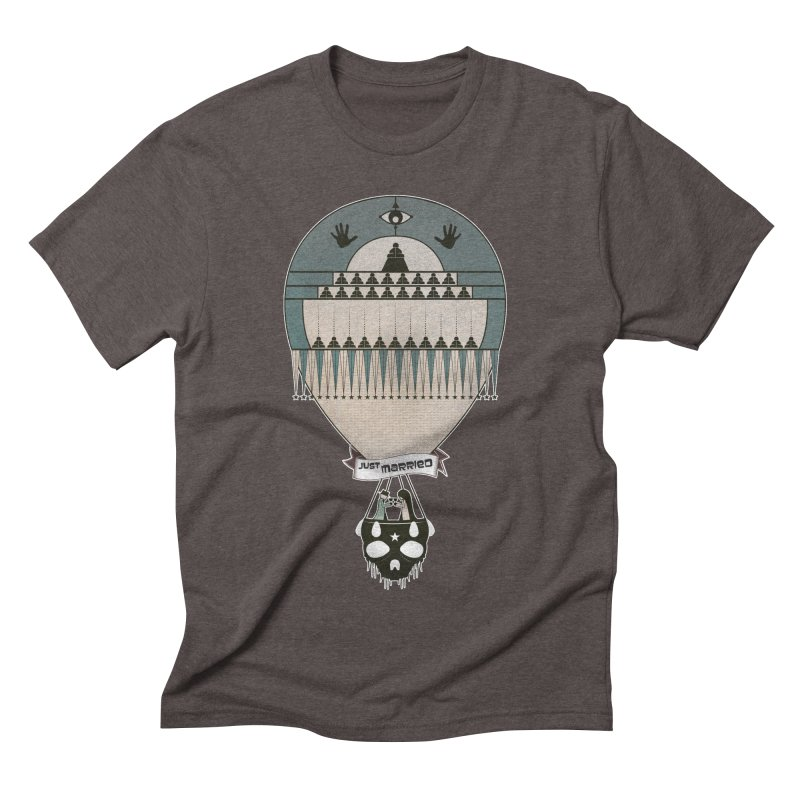 JustMarried Men's Triblend T-shirt by krabStore