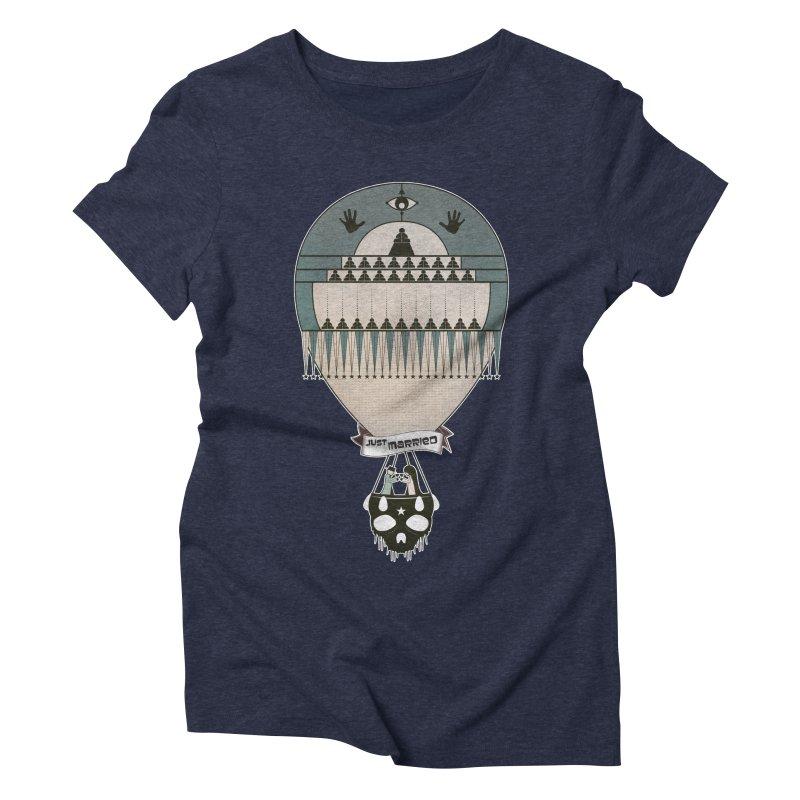 JustMarried Women's Triblend T-shirt by krabStore