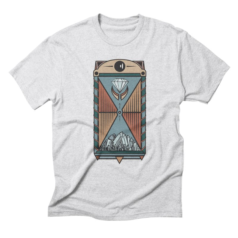 TEMPLE OF DIAMONDS Men's Triblend T-Shirt by krabStore