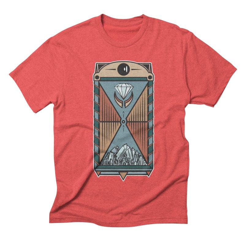 TEMPLE OF DIAMONDS Men's Triblend T-shirt by krabStore