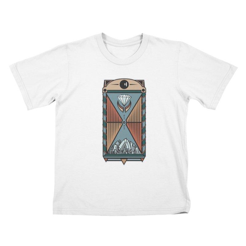 TEMPLE OF DIAMONDS Kids T-shirt by krabStore
