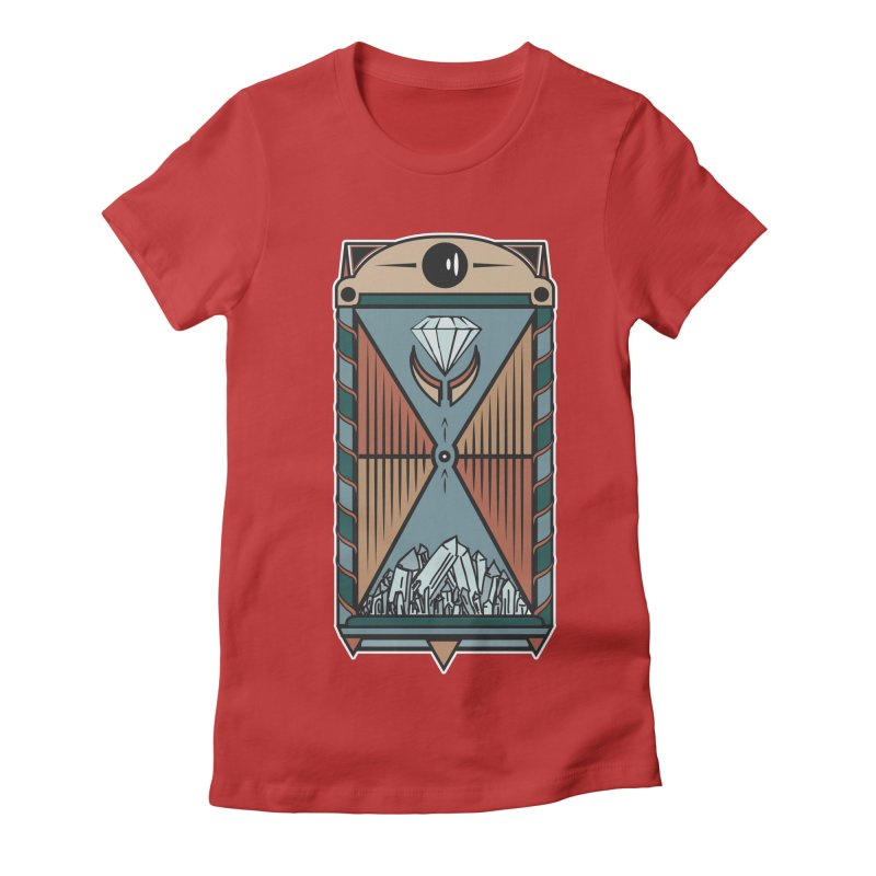TEMPLE OF DIAMONDS Women's Fitted T-Shirt by krabStore