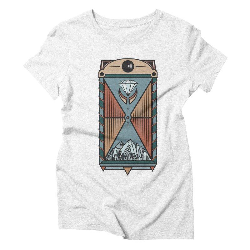 TEMPLE OF DIAMONDS Women's Triblend T-shirt by krabStore