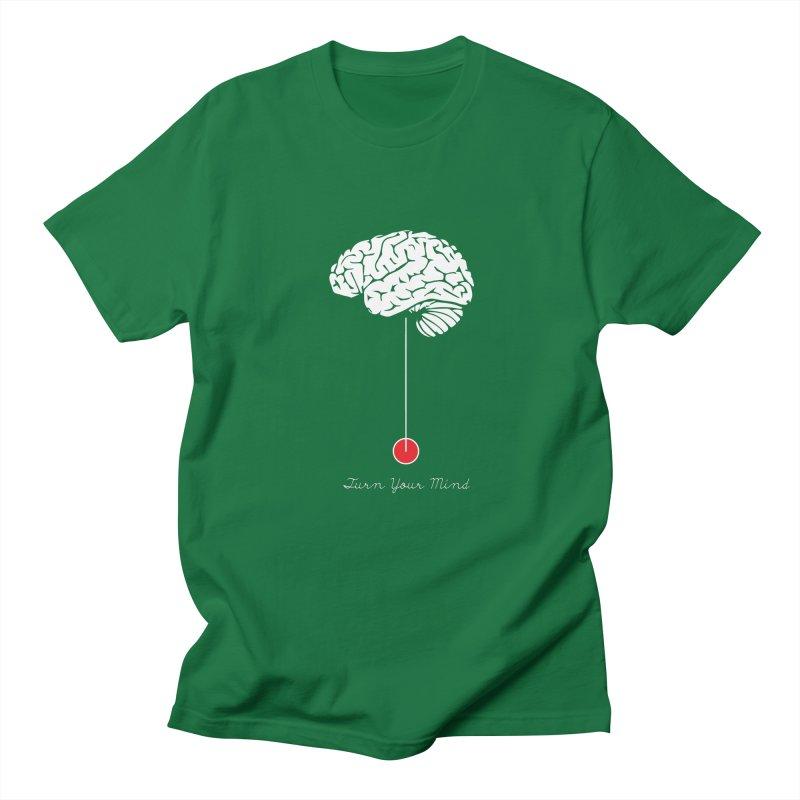Turn Your Mind Men's T-Shirt by krabStore