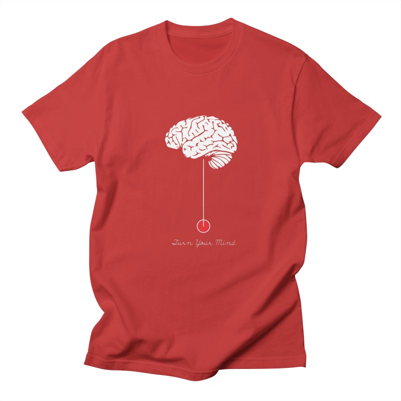Turn Your Mind Men's T-Shirt by krabStore