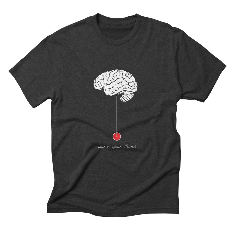 Turn Your Mind Men's Triblend T-Shirt by krabStore