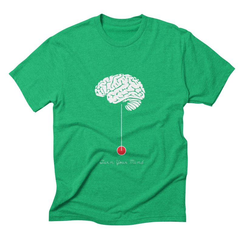 Turn Your Mind Men's Triblend T-shirt by krabStore