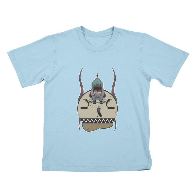 PSYCHOTIC TV Kids T-shirt by krabStore