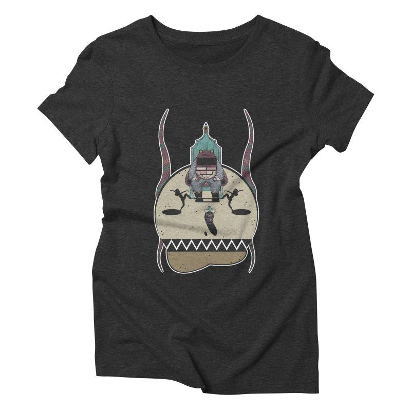 PSYCHOTIC TV Women's T-Shirt by krabStore