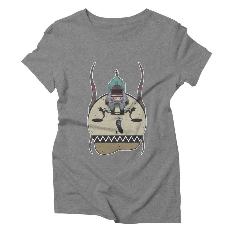 PSYCHOTIC TV Women's Triblend T-shirt by krabStore