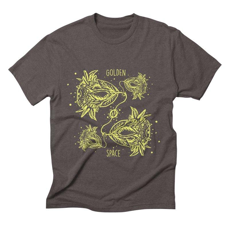 GoldanSpace Men's Triblend T-shirt by krabStore