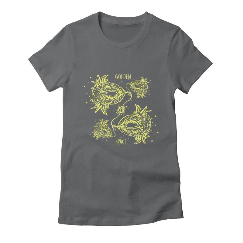 GoldanSpace Women's Fitted T-Shirt by krabStore