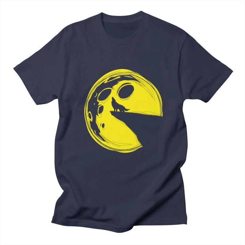PacMoon Men's T-shirt by krabStore