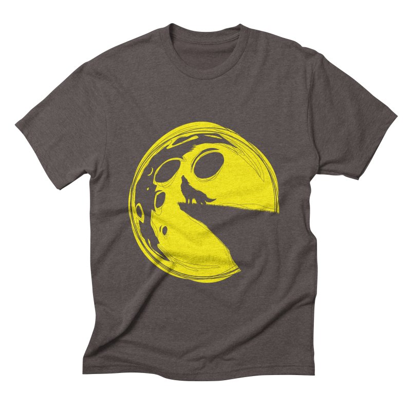 PacMoon Men's Triblend T-shirt by krabStore