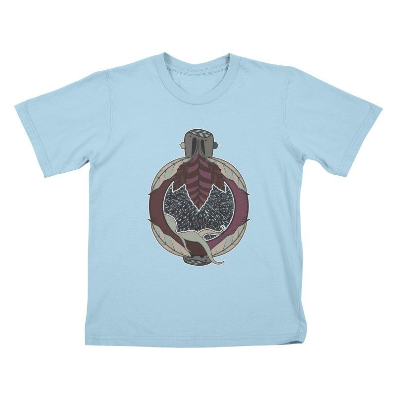 NewBornMotherSpace Kids T-shirt by krabStore