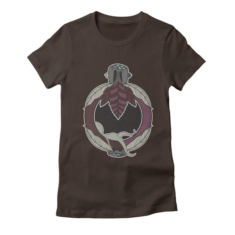 NewBornMotherSpace Women's Fitted T-Shirt by krabStore