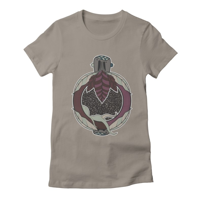 NewBornMotherSpace Women's Fitted T-Shirt by krabStore