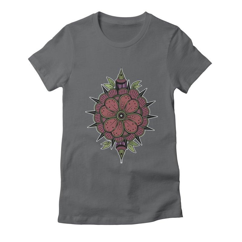 Gordon'sFlower Women's Fitted T-Shirt by krabStore