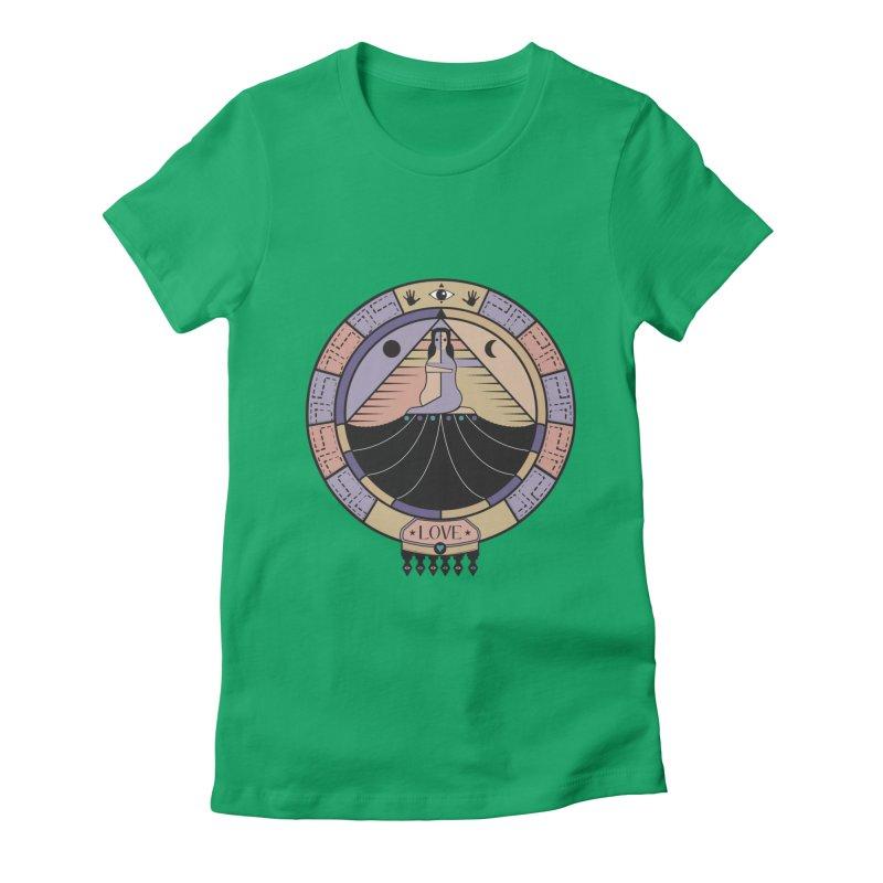 Union Women's Fitted T-Shirt by krabStore