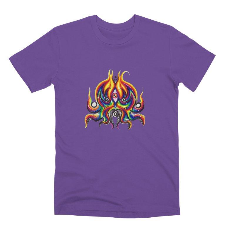 OktoSkull Men's Premium T-Shirt by Krakens Lair's Artist Shop